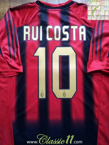 outlet store 13655 171e3 Relive Rui Costa's 2004/2005 season with this vintage Adidas ...