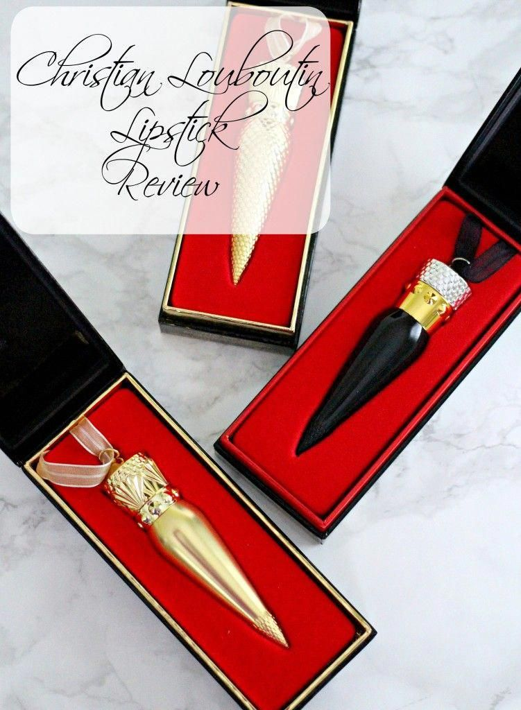 Christian Louboutin Lipstick Review... Is the most