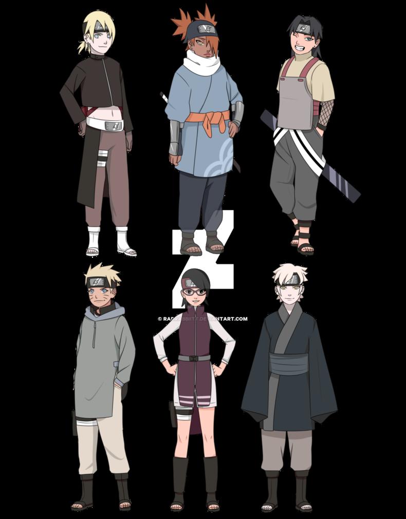 Boruto Character Remake By Radrabbiitt Boruto Characters Anime Ninja Uzumaki Boruto