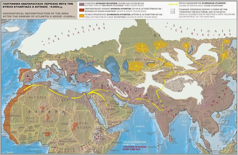 Ice Age Europe Disaster Archaeology Pinterest Historical Maps
