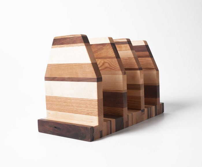 This product is simple and modern. It uses different types of wood ...