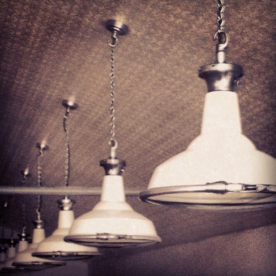 Our Original 1940s Pendant Lighting Vintage