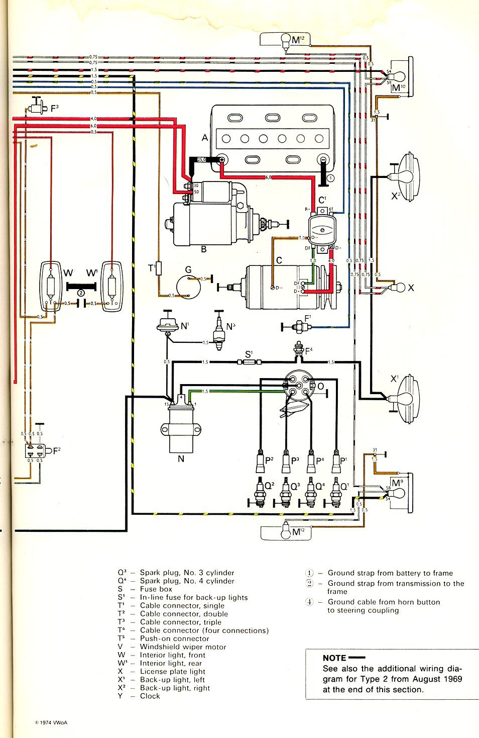 Electrical Wiring Drawing Vw Links In 2018 Pinterest A House How To