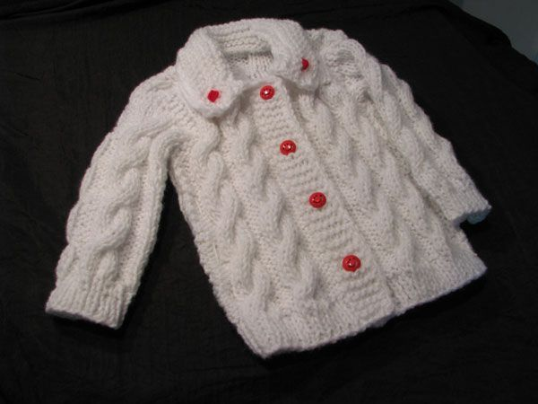 crochet y dos agujas niños - Buscar con Google   abrigos niñas ...