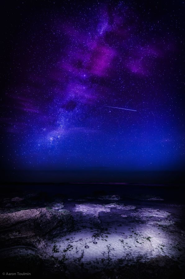 Shooting Star By Aaron Toulmin Australia