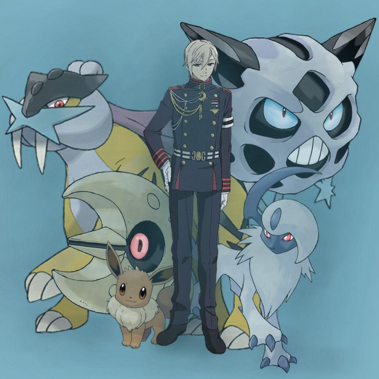 Kết quả hình ảnh cho pokemon and owari no seraph