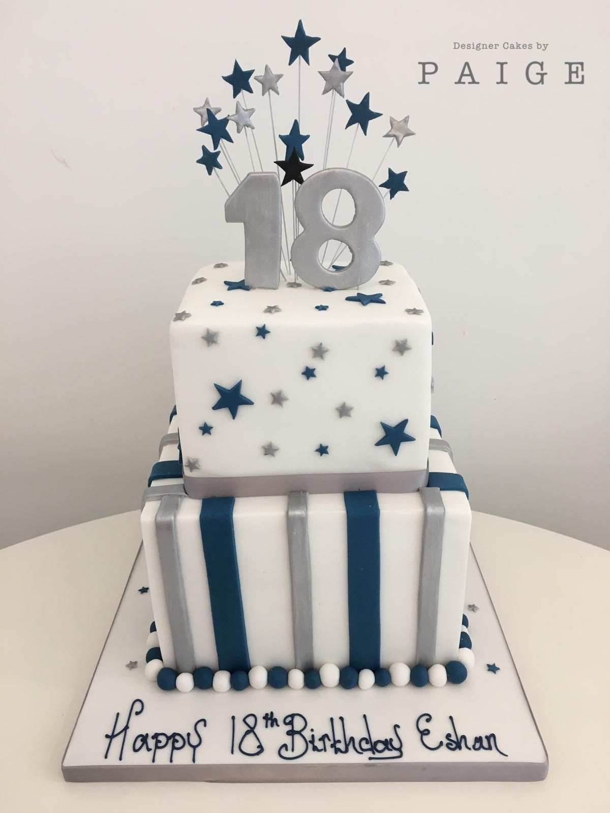 18th Birthday Cake Boy : birthday, Birthday, Cake,