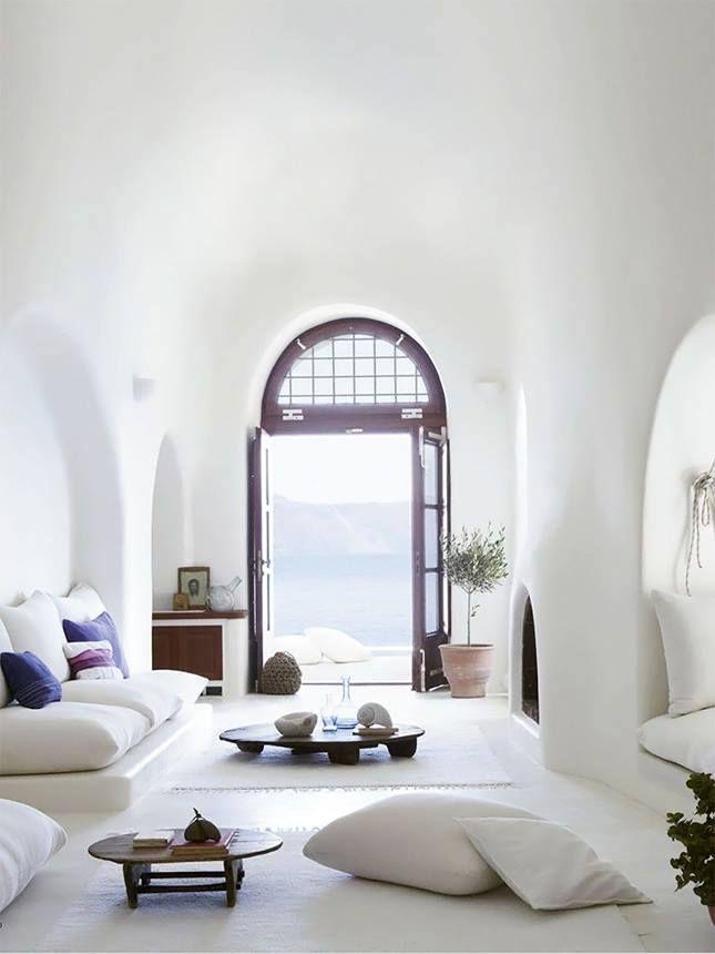 luxus Interrir Design in weiß für hazienda wohnzimmer einrichtung