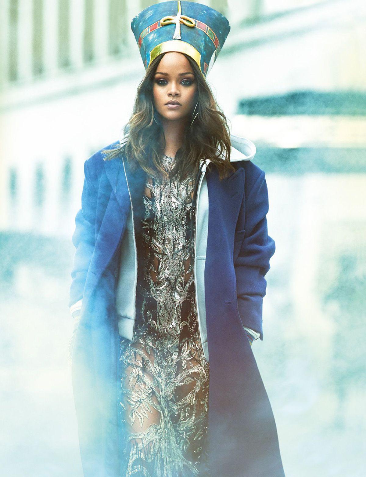 vogue arabia   rihanna, magazine editorial and editorial fashion