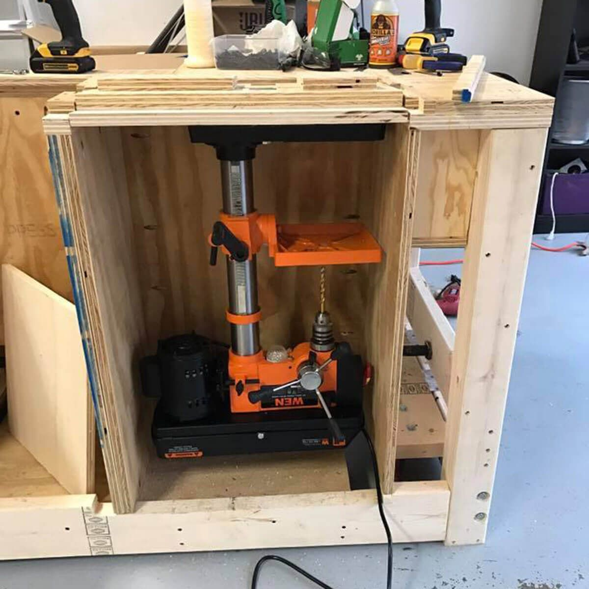 Drill Press Stand DIY Project in 2020 Drill press