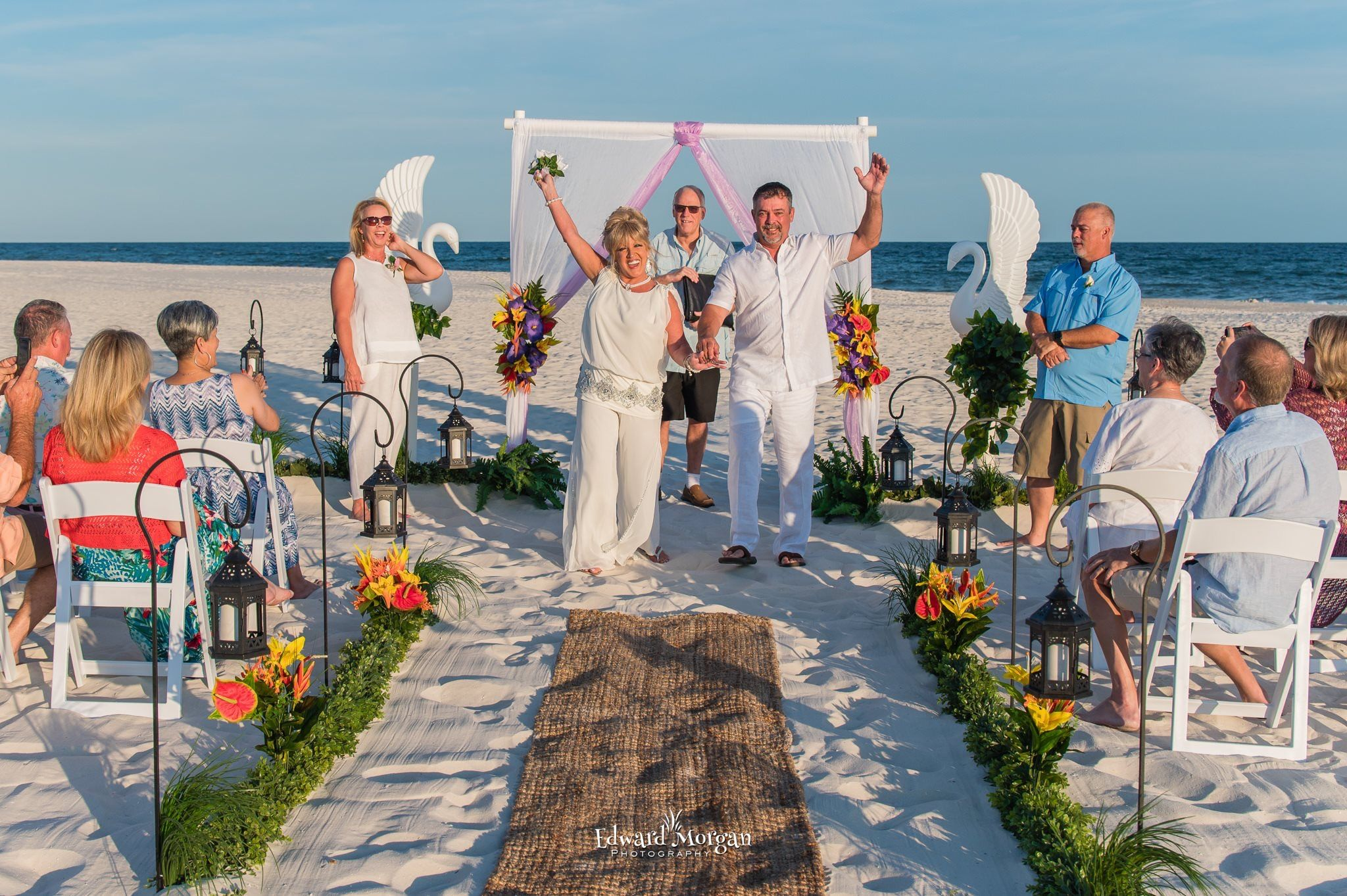 Gulf Shores Alabama Sun Coast Beach Weddings Gulf Shores Beach Beach Wedding Packages Shores Beach