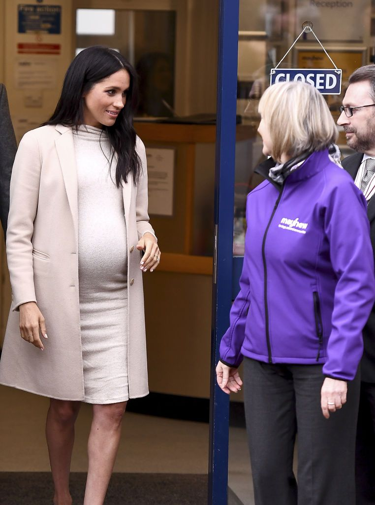 45197fbd63d67 LONDON, ENGLAND - JANUARY 16: Meghan, the Duchess of Sussex visits Mayhew,  an animal welfare charity on January 16, 2019 in London, England.