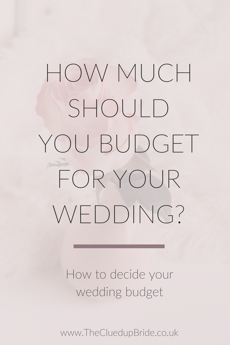 How Much To Budget For Your Wedding And When Blow It