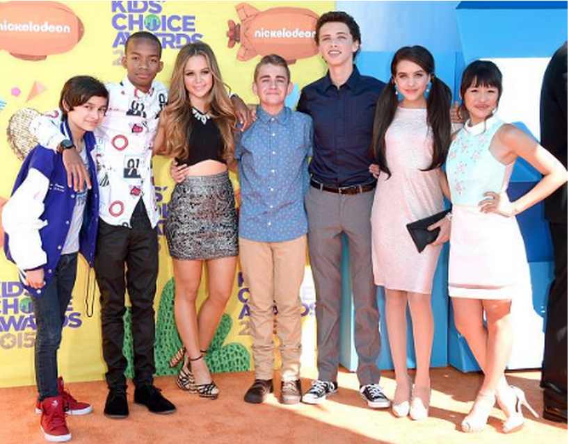 Nickelodeon UK Verified account ‏@NickelodeonUK #TBT to the Bella and the Bulldogs cast at the KCAS #GoTeamBella