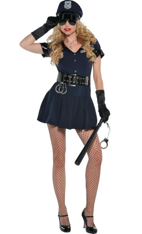 0d95f3d4d82f Adult Officer Rita Dem Rights Police Costume - Party City