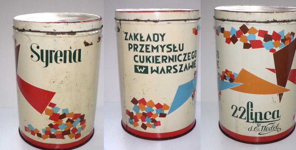 Duza Puszka 22 Lipca Syrena Warszawa Prl 8428981884 Oficjalne Archiwum Allegro Coffee Cans Retro Motor Oil
