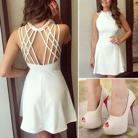 Bello vestido blanco