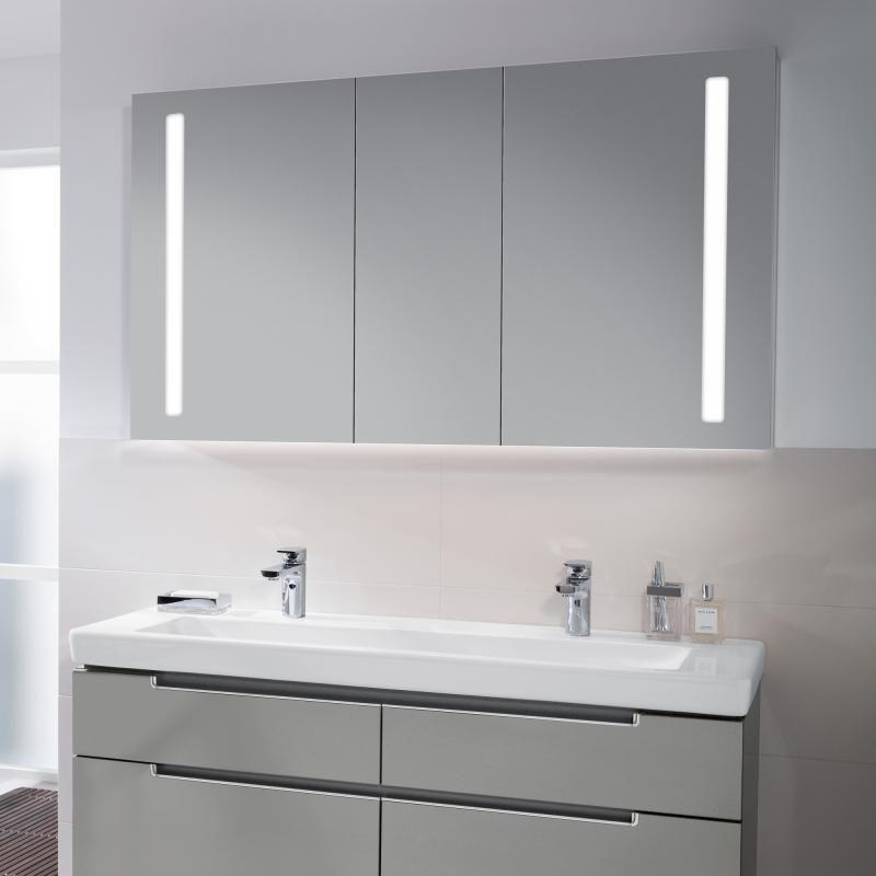 Villeroy \ Boch My View 14 Spiegelschrank mit LED-Beleuchtung - led beleuchtung im badezimmer
