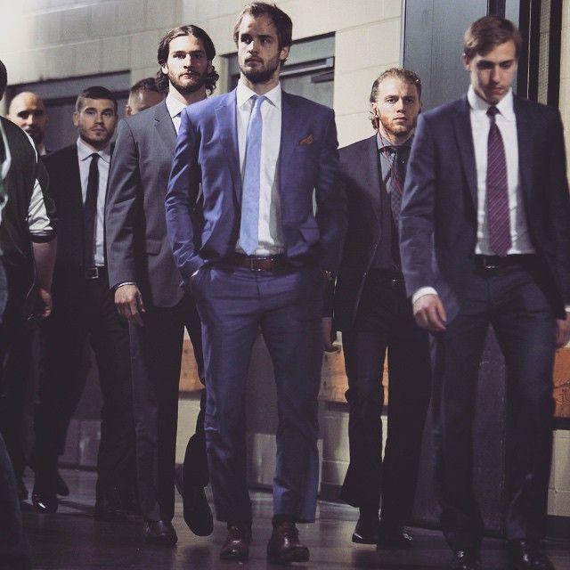 Chicago Blackhawks Official On Instagram Hockey Players In Suits Latergram Hockey Players Chicago Blackhawks Hockey Nhl Chicago