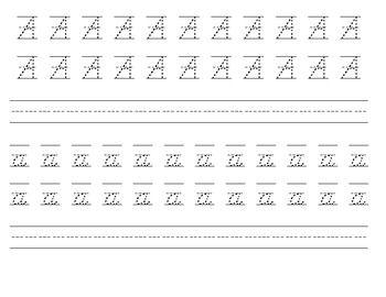 D'Nealian Handwriting practice | Handwriting practice ...