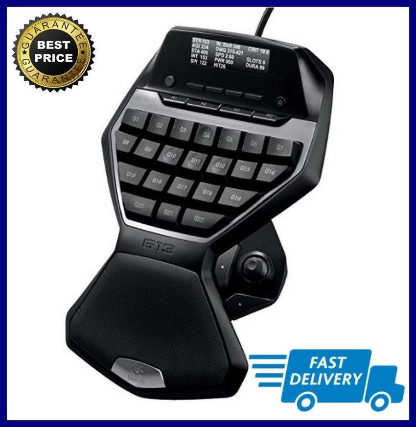 85e23f68ad0 Logitech G13 Programmable Advanced Gameboard With LCD Display NEW FREE  SHIPPING #Logitech