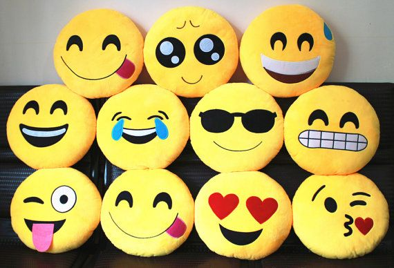 Emoji Emoji Pillow Expression Pillow Shaped Pillow Smiley Emoticon Expression Doll Cuscino Emoticon Stuffed Plush Toy Emoji Pillows Emoji Cushions Cute Pillows
