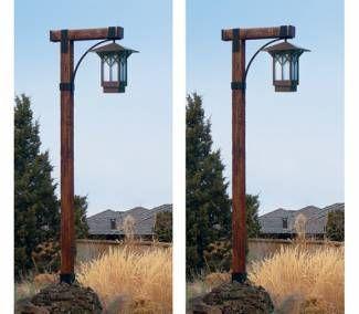 Image Result For Wooden Lamp Posts Garden Lamp Post Driveway Lighting Lamp Post