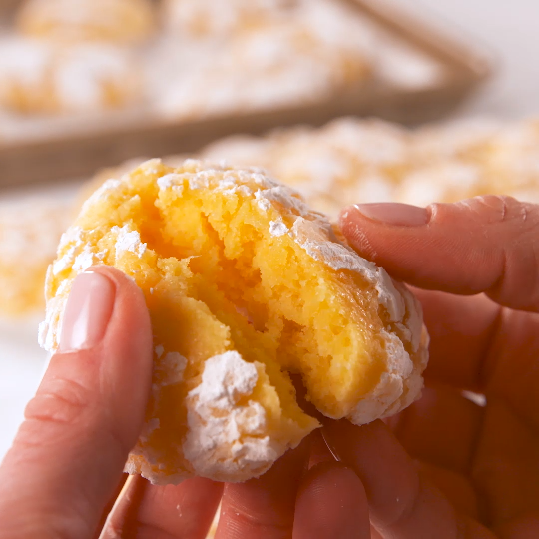 Lemon Butter Cookies -  These cookies have the perfect balance of sweet and tart. It's the treat