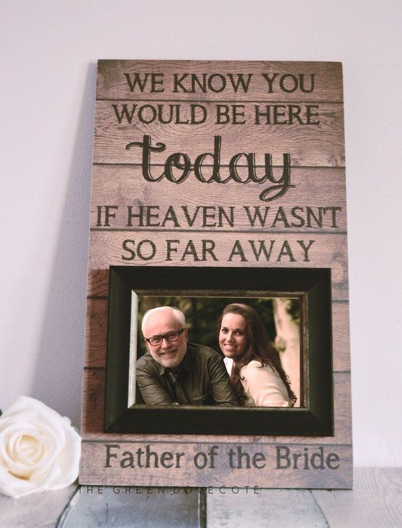 Memorial Frames Gift Remember A Loved One In Memory Of Dad