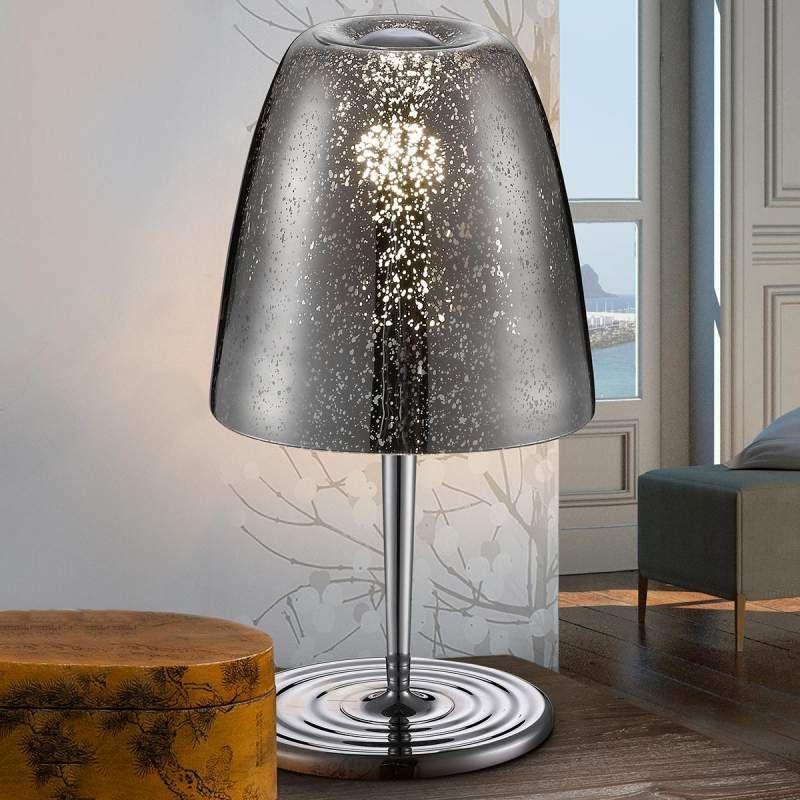 Tischleuchte Rasqua Mit Glasschirm Von Schuller Tischleuchte Lampen Und Lampentisch