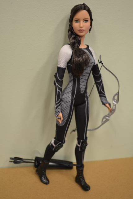 Here's a fabulous review of the Hunger Games Barbie dolls.