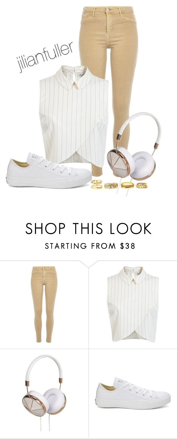 """""""Beats"""" by jilianfuller ❤ liked on Polyvore featuring River Island, Miss Selfridge, Frends, Converse and Charlotte Russe"""