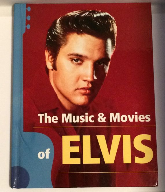 The Music and Movies of #Elvis Book. Available now from #SoaringHawkVintage on #Etsy. #elvispresley #books #cute #memphis #graceland.