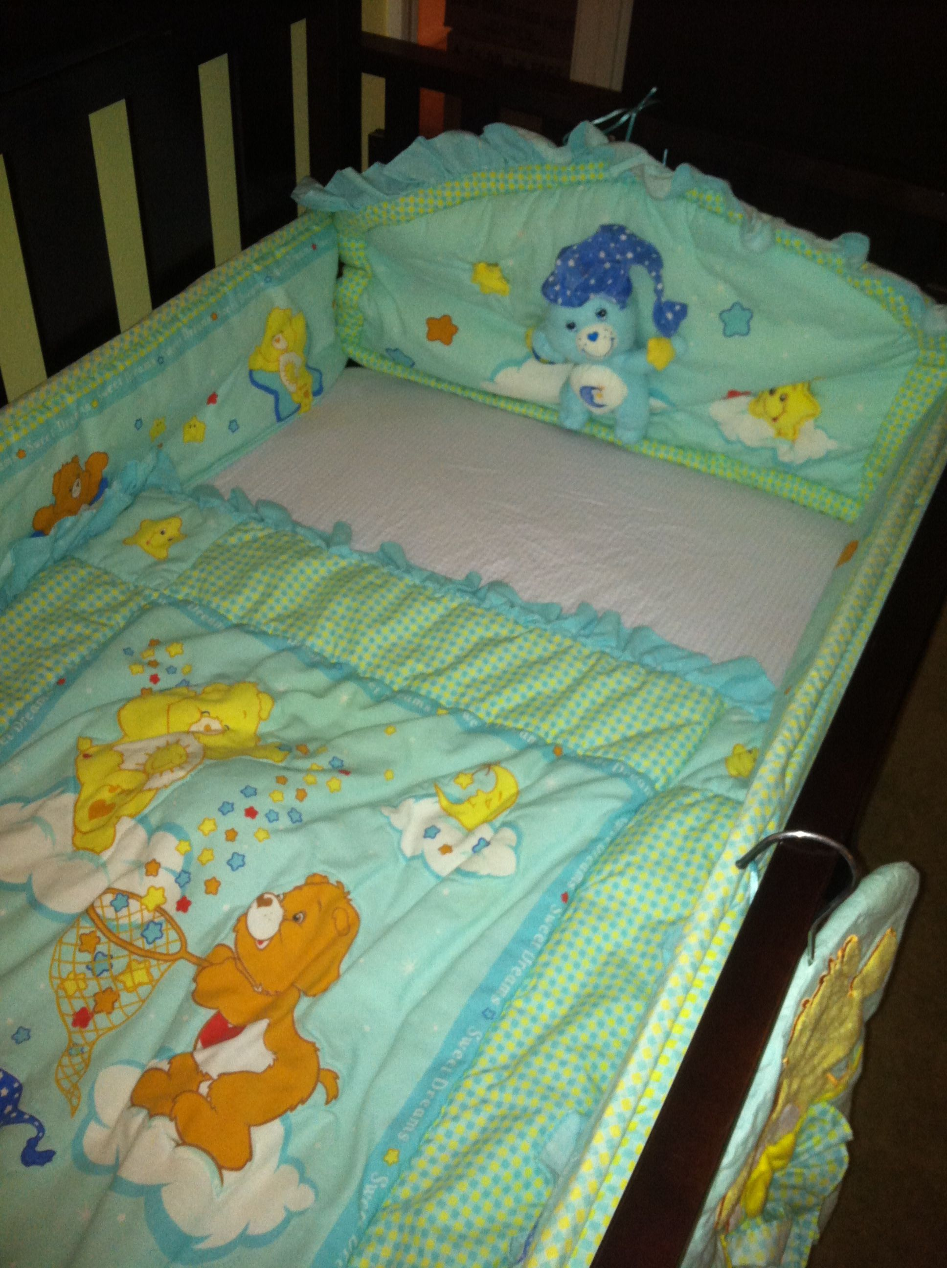 Care Bear Crib Set Love