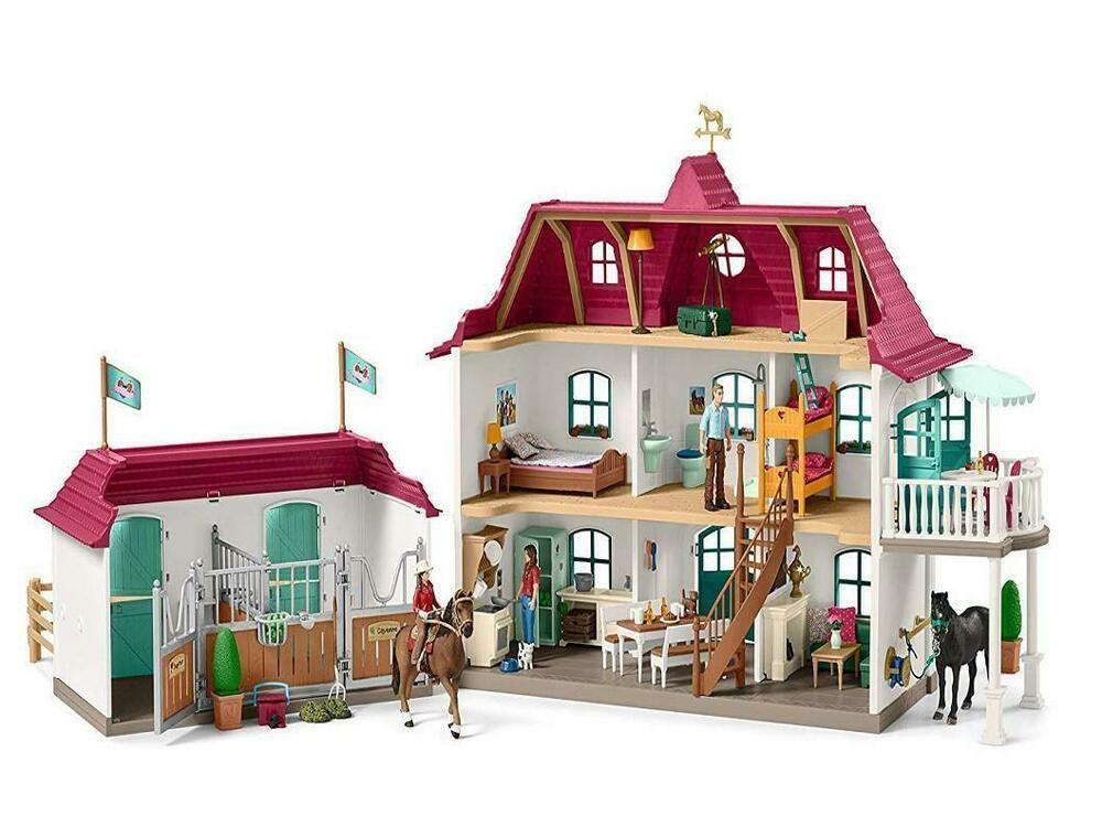 Ebay Sponsored B Ware Schleich 42416 Grosser Pferdehof Spielset Reiterhof Spielzeug Spielfiguren Stables Horse Stables Schleich