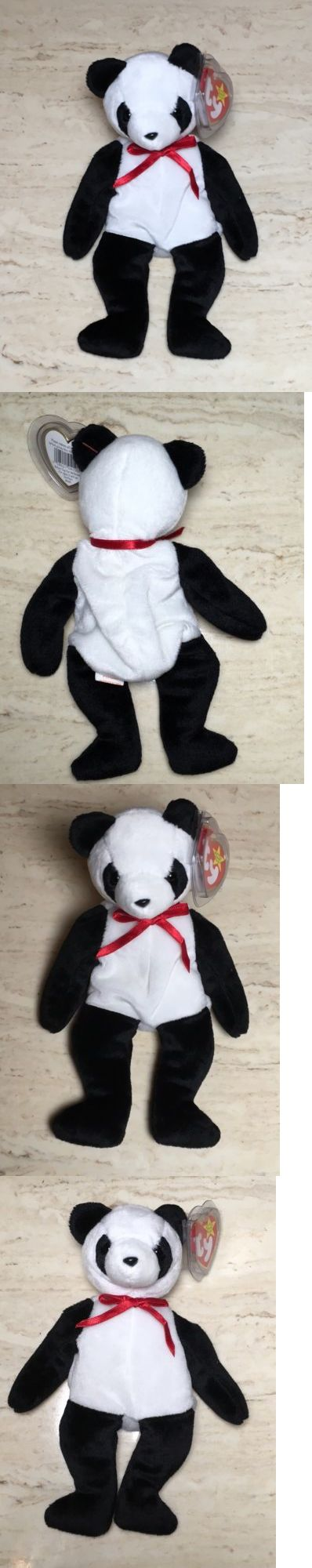 2b651d4ce6d Beanie Babies-Original 19205  Ty Beanie Baby Fortune Panda Bear Retired  Rare 12 6 1997 Tush Tag Stamped Errors -  BUY IT NOW ONLY   600 on eBay!