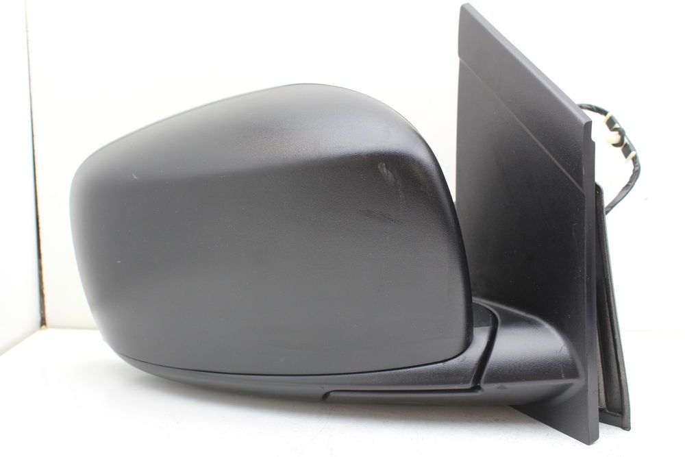 Mirror Power Heated Signal Smooth Black Left Driver Side for 13-15 Toyota Rav4