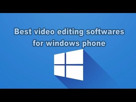 cool Best Video Editing Apps for Windows phone in 2016 Check more at http:/