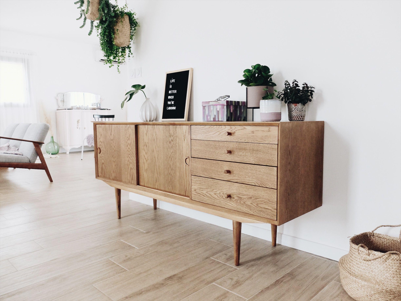 Qu Est Ce Qu Une Enfilade l'enfilade vintage sans chiner | meuble enfilade, meuble