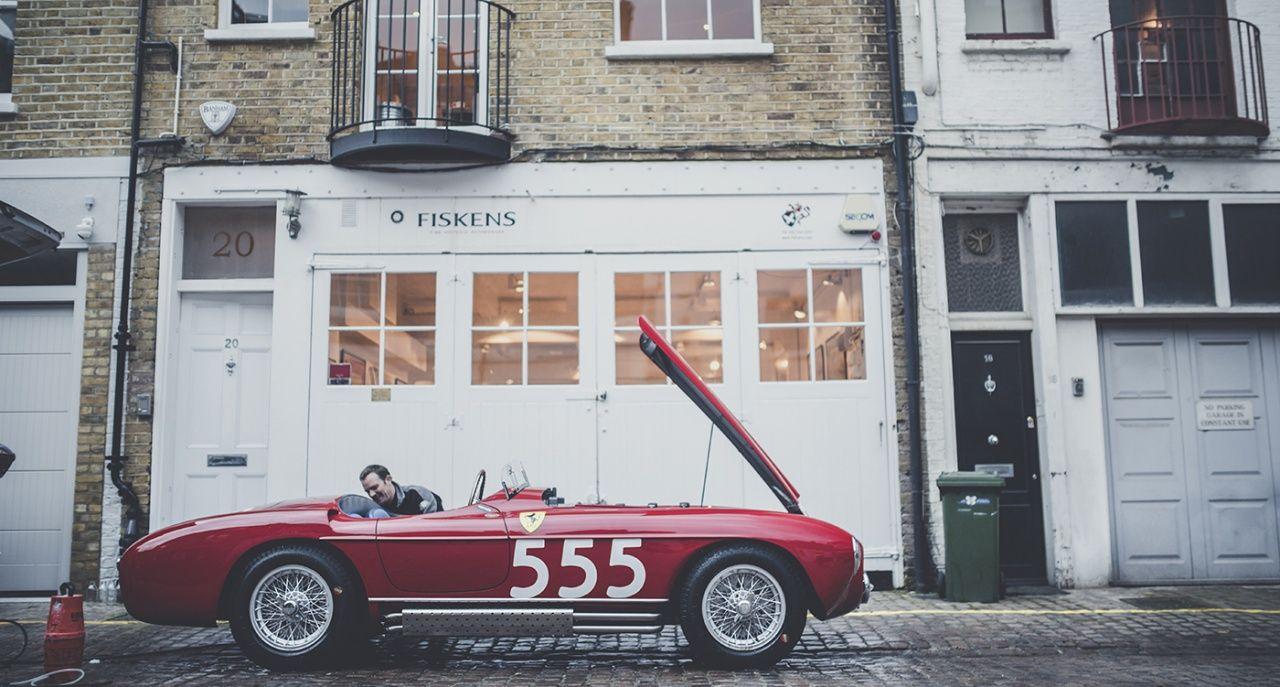 Behind The Scenes Bathtime With A Ferrari 212 Barchetta