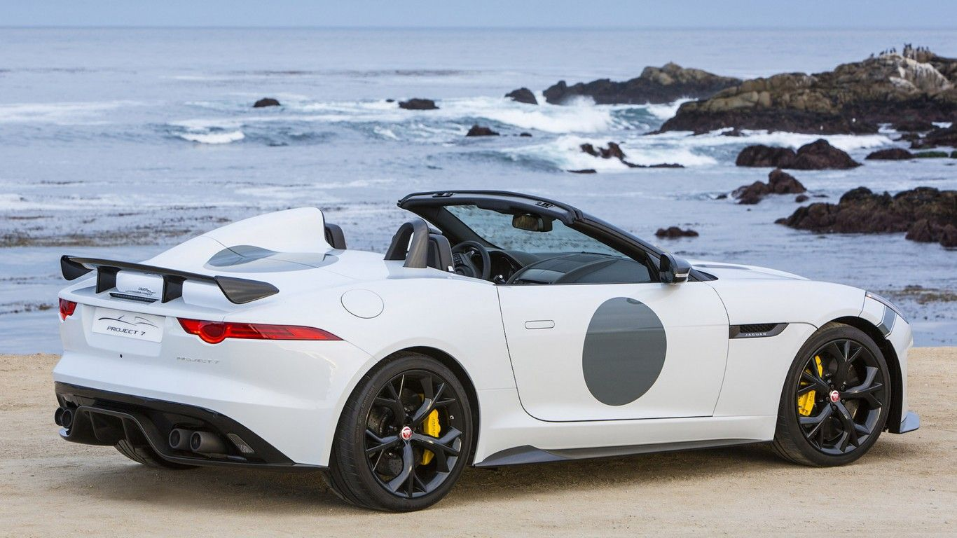 2015 Jaguar F Type Project 7 HD Wallpaper 1366x768 Wallpaper
