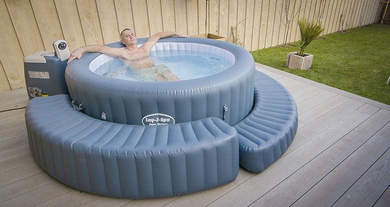 Must Have Accessories For Your Hot Tub Inflatable Hot Tubs Portable Hot Tub Hot Tub Patio