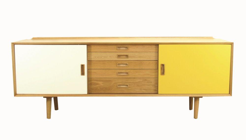 Nordic 5 Drawer Sideboard | Webbers Furniture