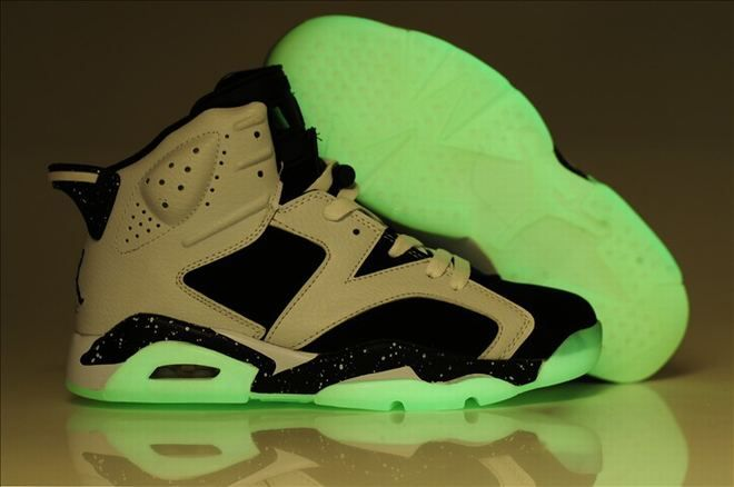 Buy Air Jordan 6 Glow In The Dark Oreo White Black Speckle Offres De Noël  from Reliable Air Jordan 6 Glow In The Dark Oreo White Black Speckle Offres  De ...