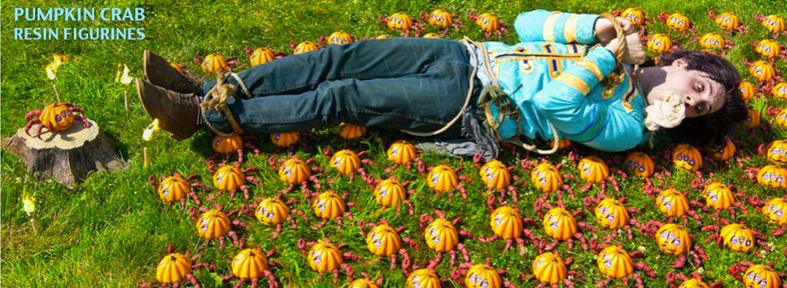 Pumpkin Crab Beneath The Harvest Edition By Jim Mckenzie x ToyQube