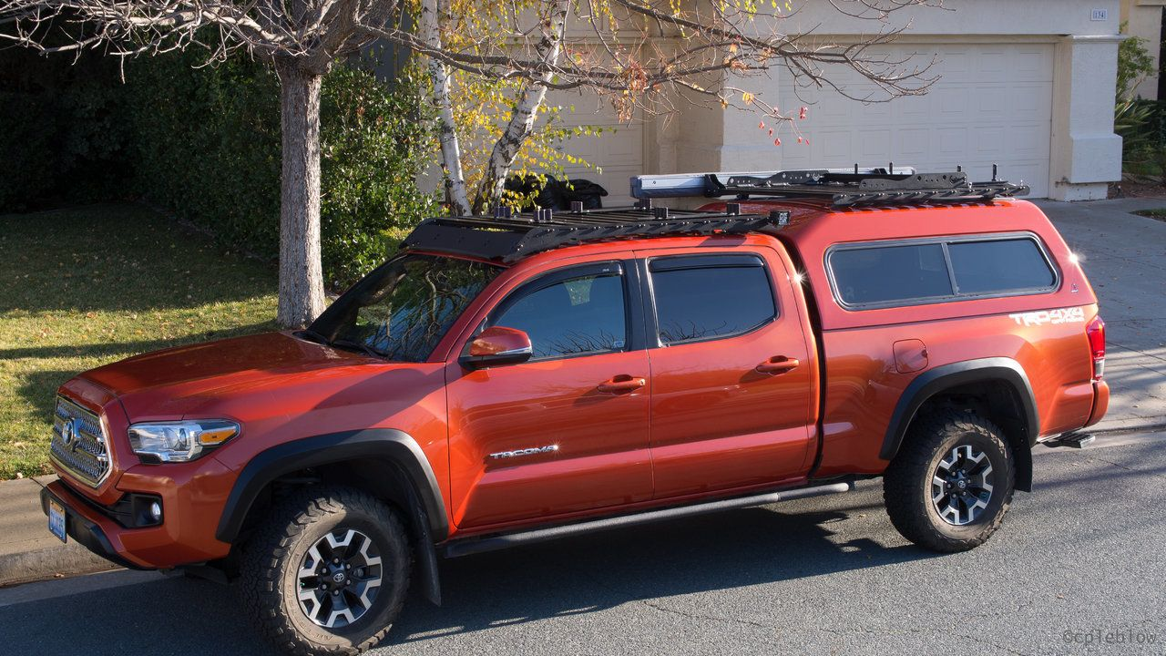 ARE MX Series Truck Topper with Prinsu Rack | Toyota | Truck toppers
