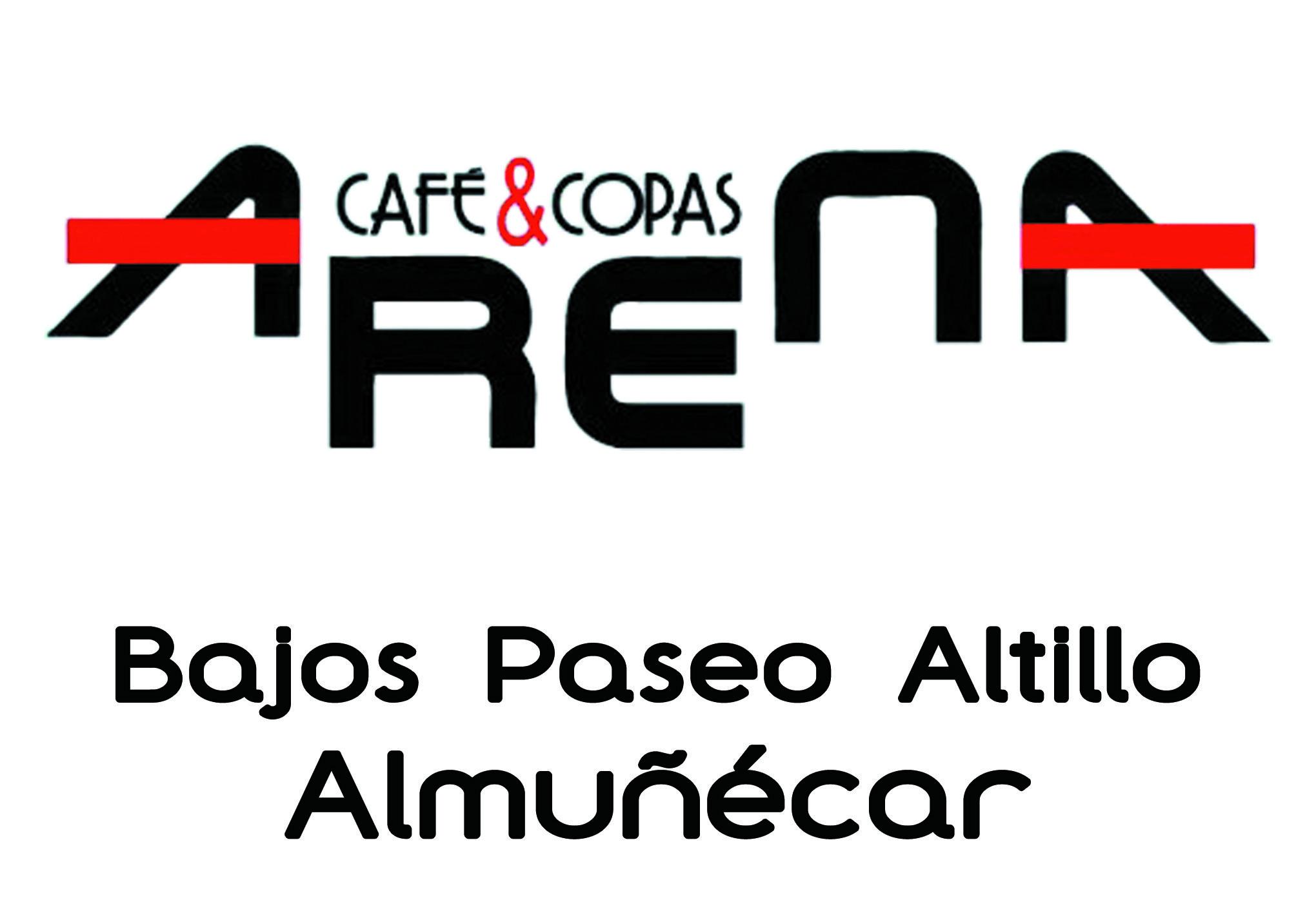 CAFE ARENA COPAS ¡¡DALE LA VUELTA AL TICKET!! del DIA% en Salobreña.