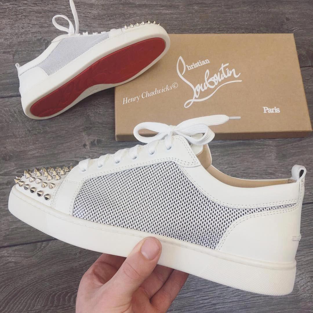 louboutin sneakers femme beige