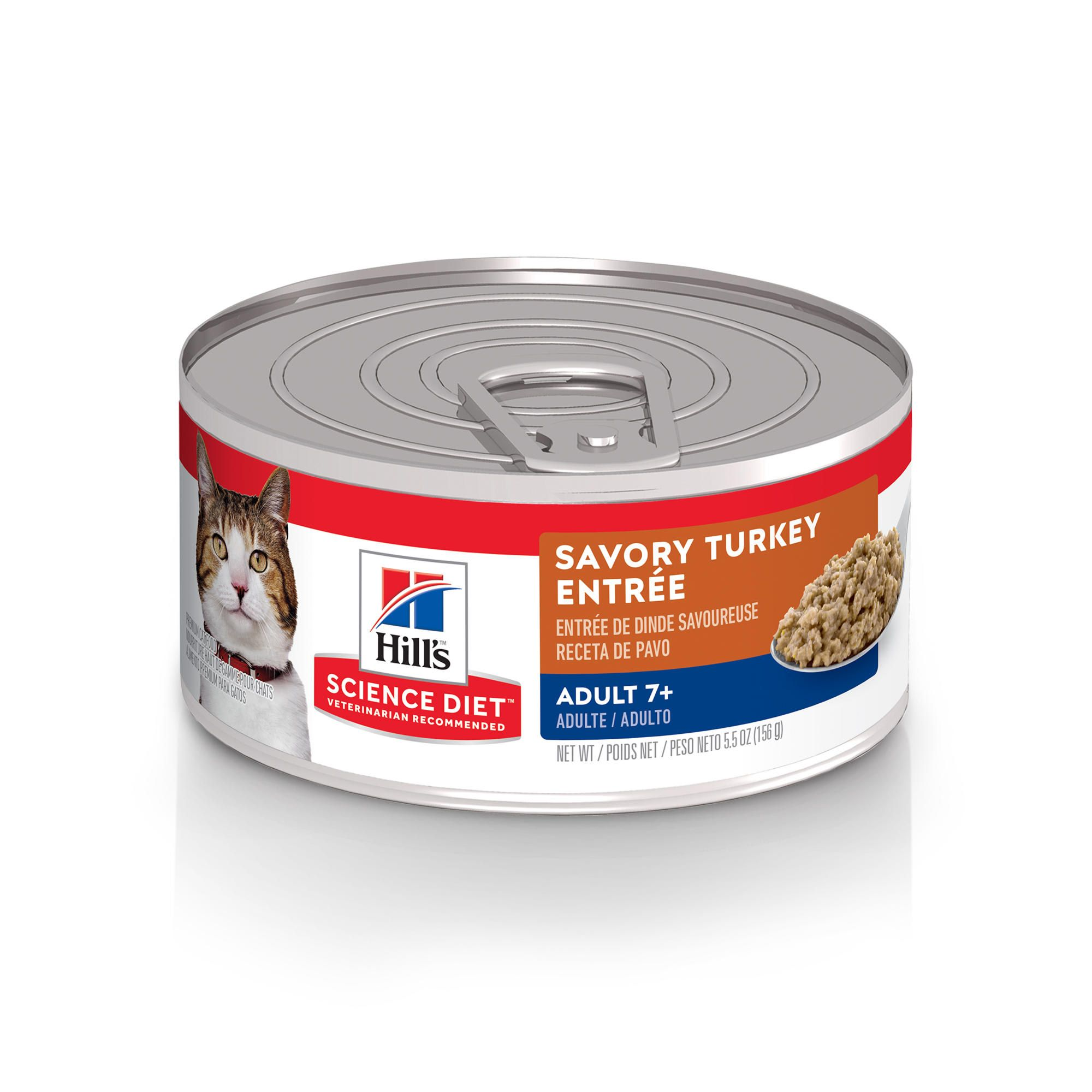 "Hill""s Science Diet Senior 7+ Savory Turkey Entree Canned"