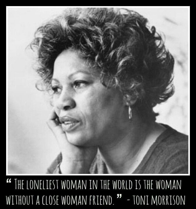 Toni Morrison Quotes Stunning Toni Morrison Quote Woman .in The Beginning Was The Word .